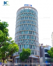 Biển hiệu tòa nhà Thông tấn xã Việt Nam