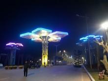 Chiếu sáng kiến trúc cổng chào dự án Khu du lịch Quốc tế Đồi rồng - Đồ Sơn Dragon tại TP Hải Phòng