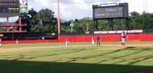 Bảng thông tin  điện tử, màn hình led full color  tại SVĐ Estadio guillermo moncada, Cuba