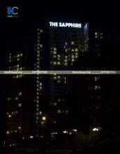 Biển hiệu tòa nhà The Sapphire Hạ Long, Quảng Ninh